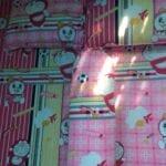 Bộ Drap Nệm Thun Lạnh HQ cho bé Doremon 1m, 1m2, 1m4, 1m6, 1m8, Hồng sọc, có Ga lẻ không vỏ gối 026 photo review