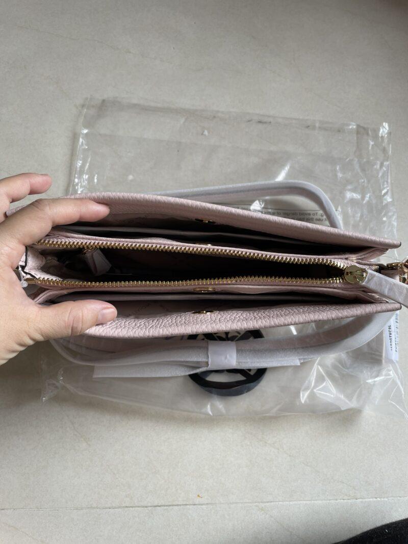 Túi ví có dây đeo MK Michael Kors màu hồng
