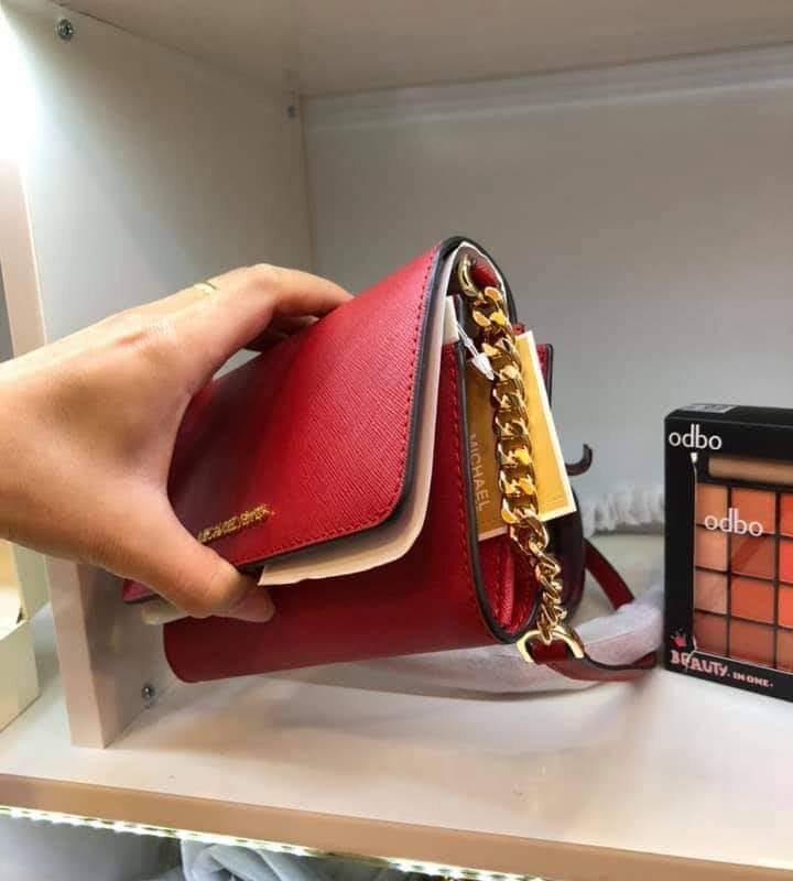 Túi xách MK Michael Kors màu đỏ