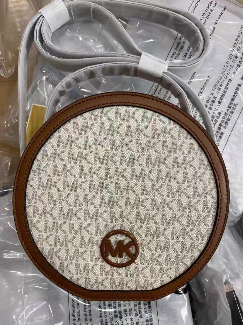 Túi tròn MK Michael Kors logo